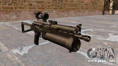 Subfusil ametrallador pp-19 Bizon para GTA 4