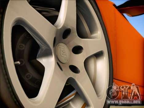RUF RT12S para la visión correcta GTA San Andreas