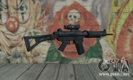FN FNC para GTA San Andreas segunda pantalla
