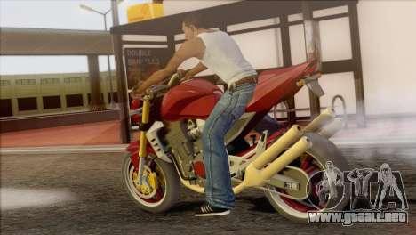 Kawasaki Z1000 para GTA San Andreas left