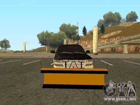Chevrolet Suburban para GTA San Andreas left