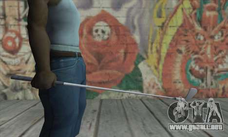 Putter de GTA V para GTA San Andreas tercera pantalla