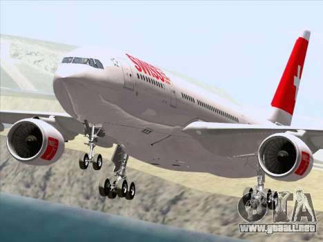 Airbus A330-223 Swiss International Airlines para GTA San Andreas