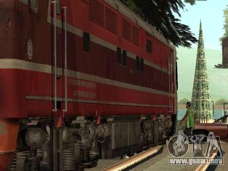 Tep80-0002 para GTA San Andreas vista posterior izquierda