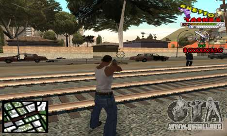 C-Hud Getto Tawer para GTA San Andreas