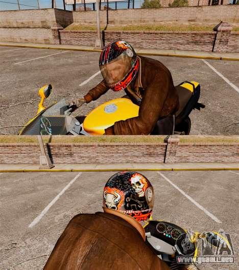 Cascos de motociclista para GTA 4