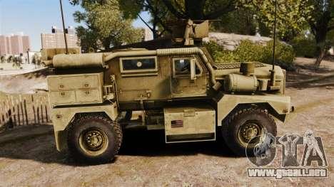 Cougar MRAP 4X4 para GTA 4 left