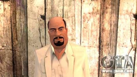 Joseph Clarence para GTA San Andreas tercera pantalla