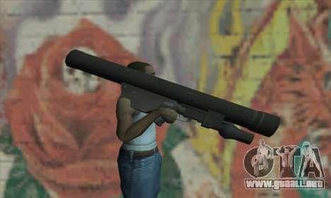 ATGM Launcher para GTA San Andreas tercera pantalla