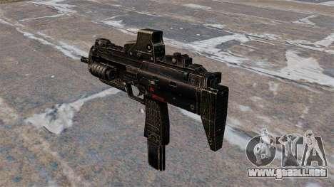 Subfusil MP7 para GTA 4 segundos de pantalla