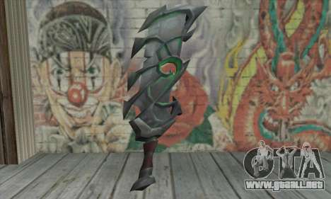 La espada de World of Warcraft para GTA San Andreas