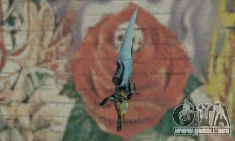 Cuchillo del príncipe de Persia para GTA San Andreas