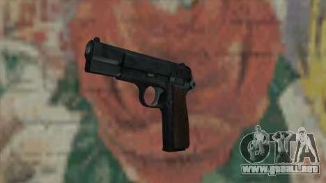 El arma de Fallout New Vegas para GTA San Andreas