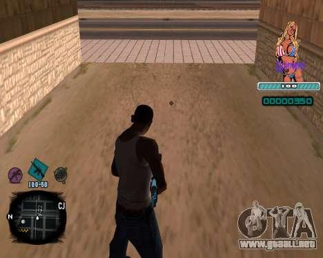 C-HUD Quintero para GTA San Andreas segunda pantalla