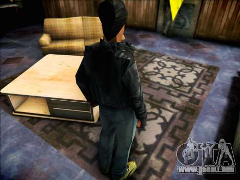 El bandido de GTA Vice City para GTA San Andreas segunda pantalla