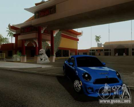 MINI Cooper S 2012 para GTA San Andreas left