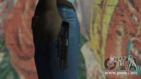 El arma de Fallout New Vegas para GTA San Andreas tercera pantalla