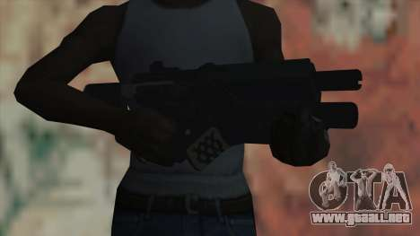 Rifle de Timeshift para GTA San Andreas tercera pantalla