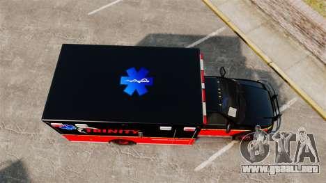 Landstalker L-350 Trinity EMS Ambulance [ELS] para GTA 4 visión correcta