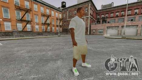 Franklin Clinton v3 para GTA 4 segundos de pantalla