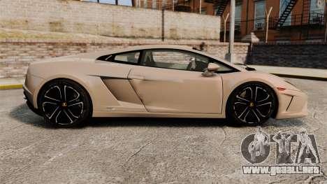 Lamborghini Gallardo 2013 v2.0 para GTA 4 left