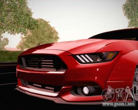 Ford Mustang Rocket Bunny 2015 para el motor de GTA San Andreas