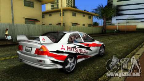 Mitsubishi Lancer Rally para GTA Vice City left