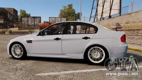 BMW M3 Unmarked Police [ELS] para GTA 4 left