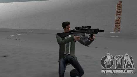 Custom MP5 para GTA Vice City segunda pantalla
