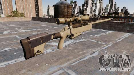 Rifle de francotirador McMillan TAC-50 para GTA 4 segundos de pantalla