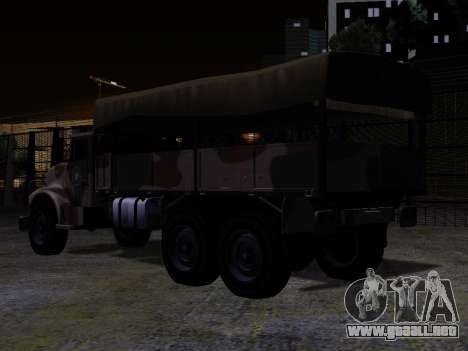 GTA V Barracks OL para GTA San Andreas left