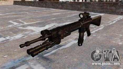 El fusil de asalto M16A4 para GTA 4
