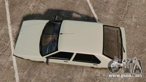 Renault 19 Europa para GTA 4 visión correcta
