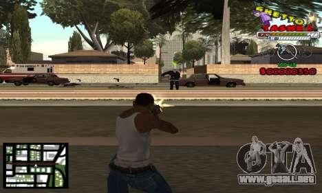 C-Hud Getto Tawer para GTA San Andreas segunda pantalla