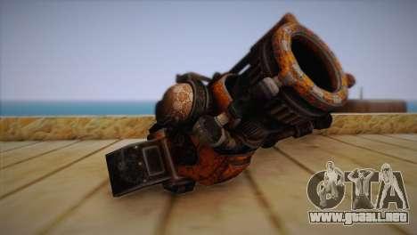 Escopeta de Bulletstorm para GTA San Andreas segunda pantalla