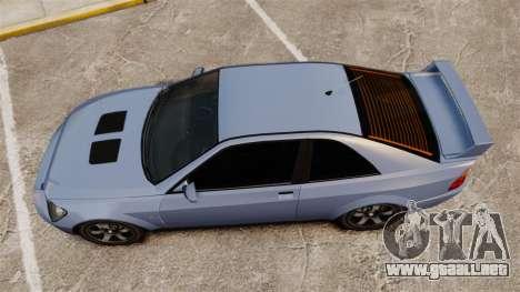 Sultan Coupe para GTA 4 visión correcta