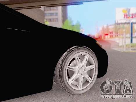 Mitsubishi Eclipse v4 para GTA San Andreas vista posterior izquierda