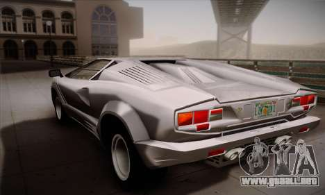 Lamborghini Countach 25th Anniversary para GTA San Andreas left