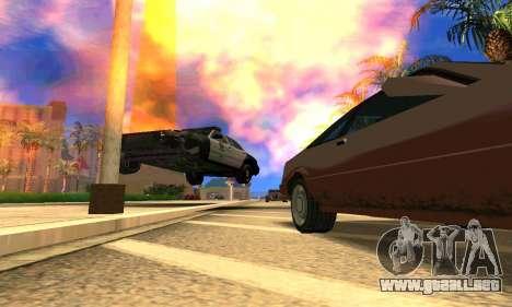 Ford Crown Victoria Police LV para visión interna GTA San Andreas