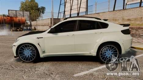 BMW X6 M HAMANN 2012 para GTA 4 left