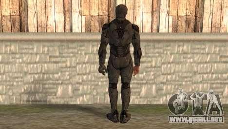Robocop 2014 Movie Version para GTA San Andreas segunda pantalla