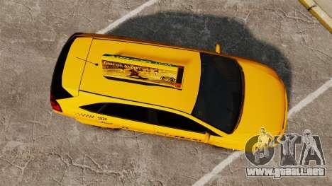 Habanero Taxi para GTA 4 visión correcta