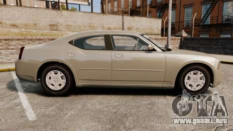 Dodge Charger SE 2006 para GTA 4 left