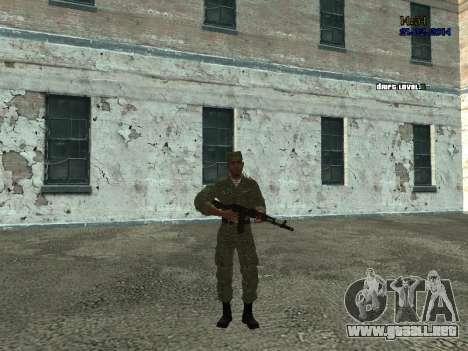Combate en el aire para GTA San Andreas segunda pantalla