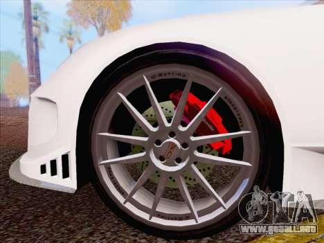 Porsche Carrera S para GTA San Andreas left