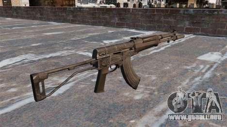 AEK-973 automático para GTA 4 segundos de pantalla