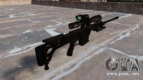 Rifle Barrett 98B para GTA 4 segundos de pantalla