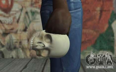 Cráneo para GTA San Andreas tercera pantalla