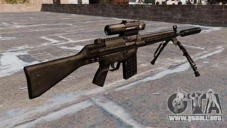 Fusil automático HK G3 para GTA 4 segundos de pantalla