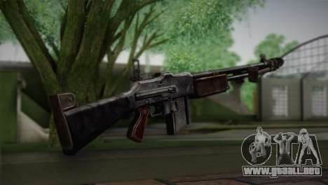 Browning M1918 para GTA San Andreas segunda pantalla